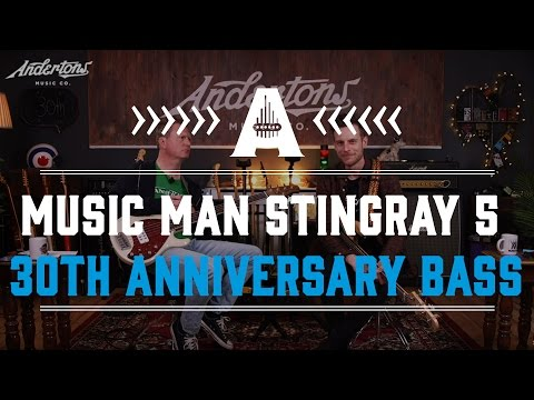 Music Man Stingray 5 30th Anniversary Bass - All About The Bass