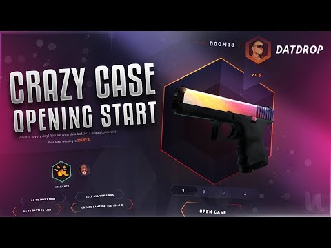 CRAZY DOOM13 PULL AT THE BEGINNING ★ DATDROP CASE OPENING