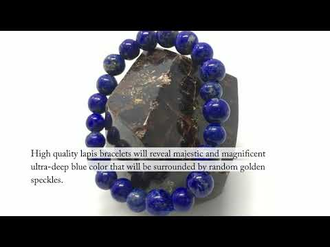 How to choose a high quality lapis lazuli bracelet?
