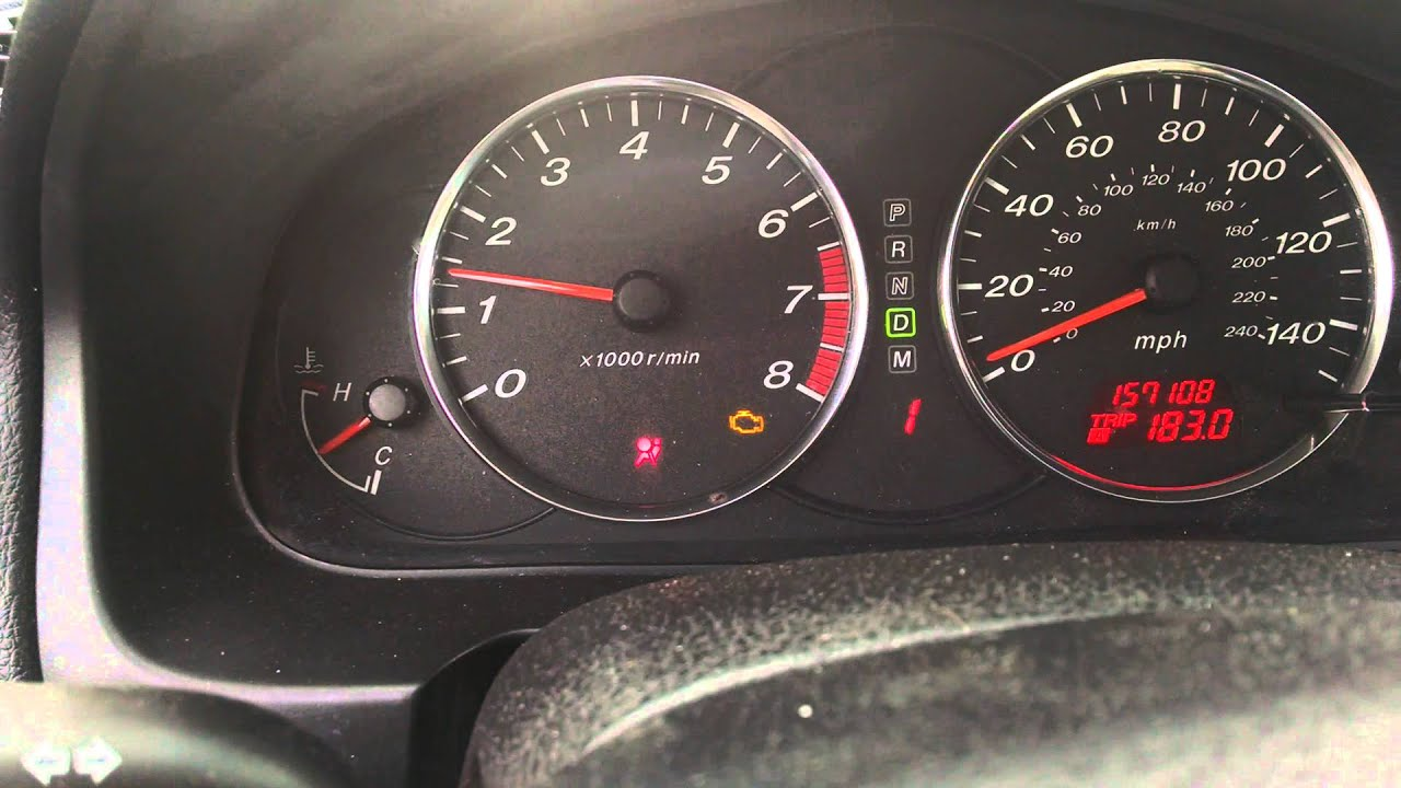 Mazda 6 Oil Pressure Light Issue - YouTube