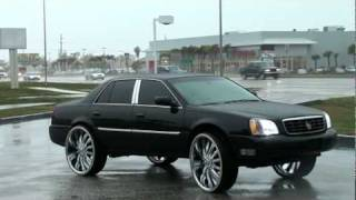 Cadilac DHS on 28's only 28 in the world with 28' vogues
