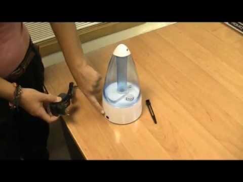 Humidificador frío ultrasónico