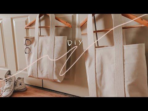 DIY TOTE BAG FOR BEGINNERS | abetweene