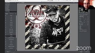 Cover Art Design Session with DJ Narco - Halucinated Live