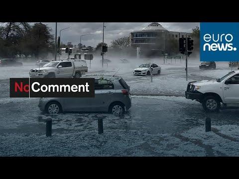 شاهد: الثلوج تغمر السيارات في مدينة سان جون الكندية  - نشر قبل 4 ساعة