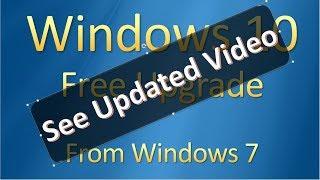 How To Upgrade To Windows 10 - Computer Tutor #001