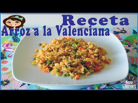 Como hacer arroz a la valenciana  |...