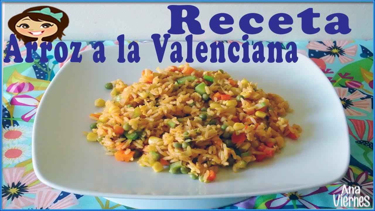 La cocina de valenciana como hacer arroz a la valenciana for Cocina valenciana