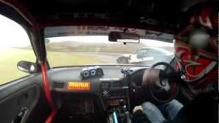 Rd.1 2012 Tas Drift Series Top 4 -Smith V Truscott