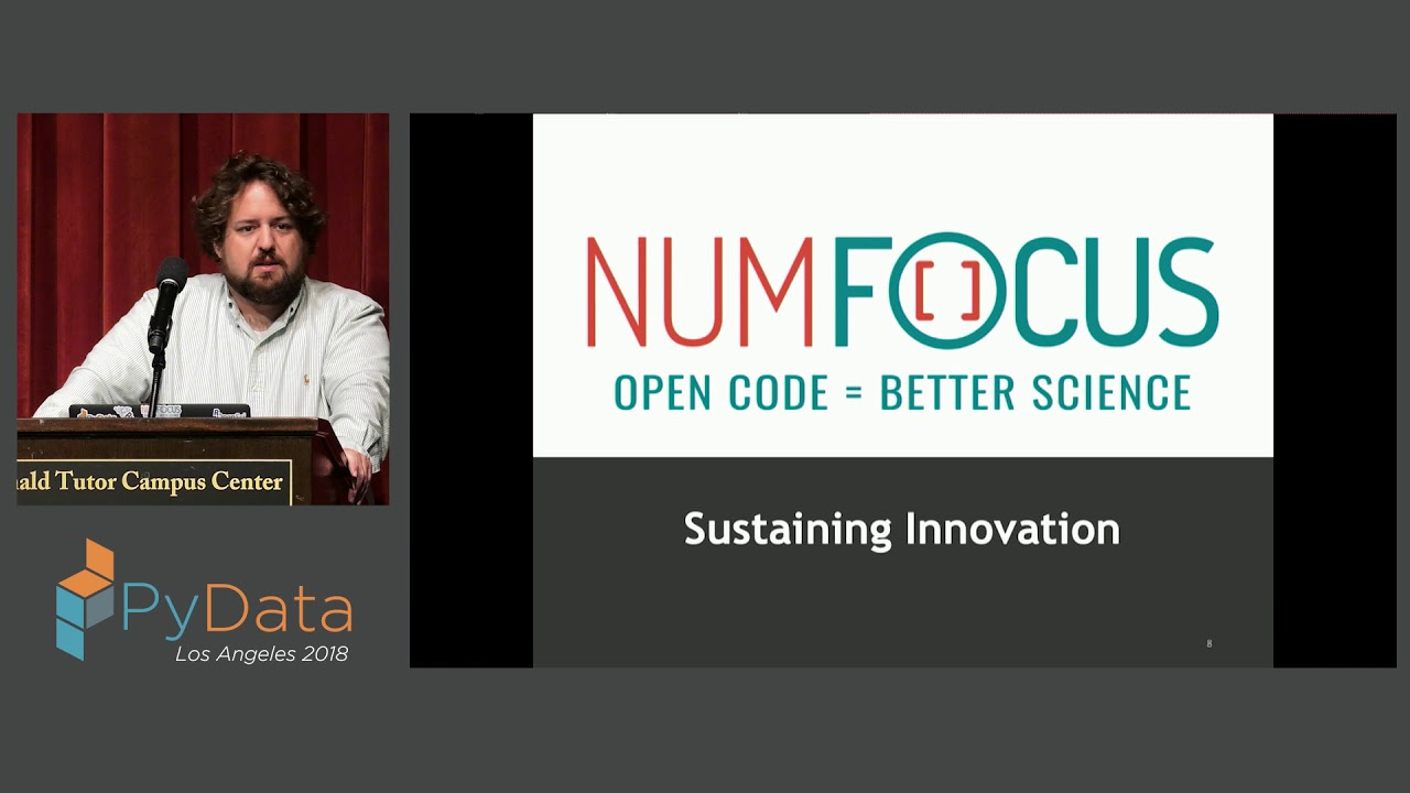Image from Building an Open Platform for Sustaining Data Science Innovation: A Tour of NumFOCUS Projects