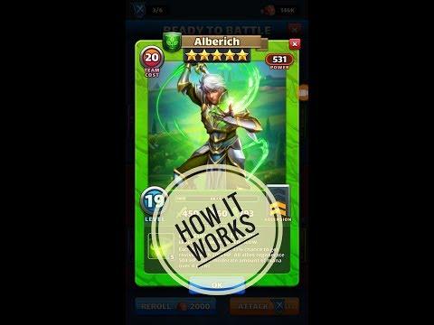 Empires & Puzzles 5* ALBERICH hero