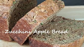 Gambar cover Zucchini Apple Bread Easy Breakfast Recipe