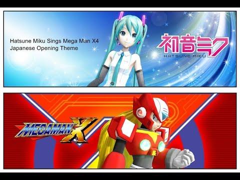 [MMD] Hatsune Miku Sings Makenai Ai ga Kitto Aru (Mega Man X4 Theme)