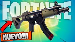 Video de Jugando con NUEVO ARMA *SUBFUSIL* Nueva Actualización FORTNITE: Battle Royale | Stratus