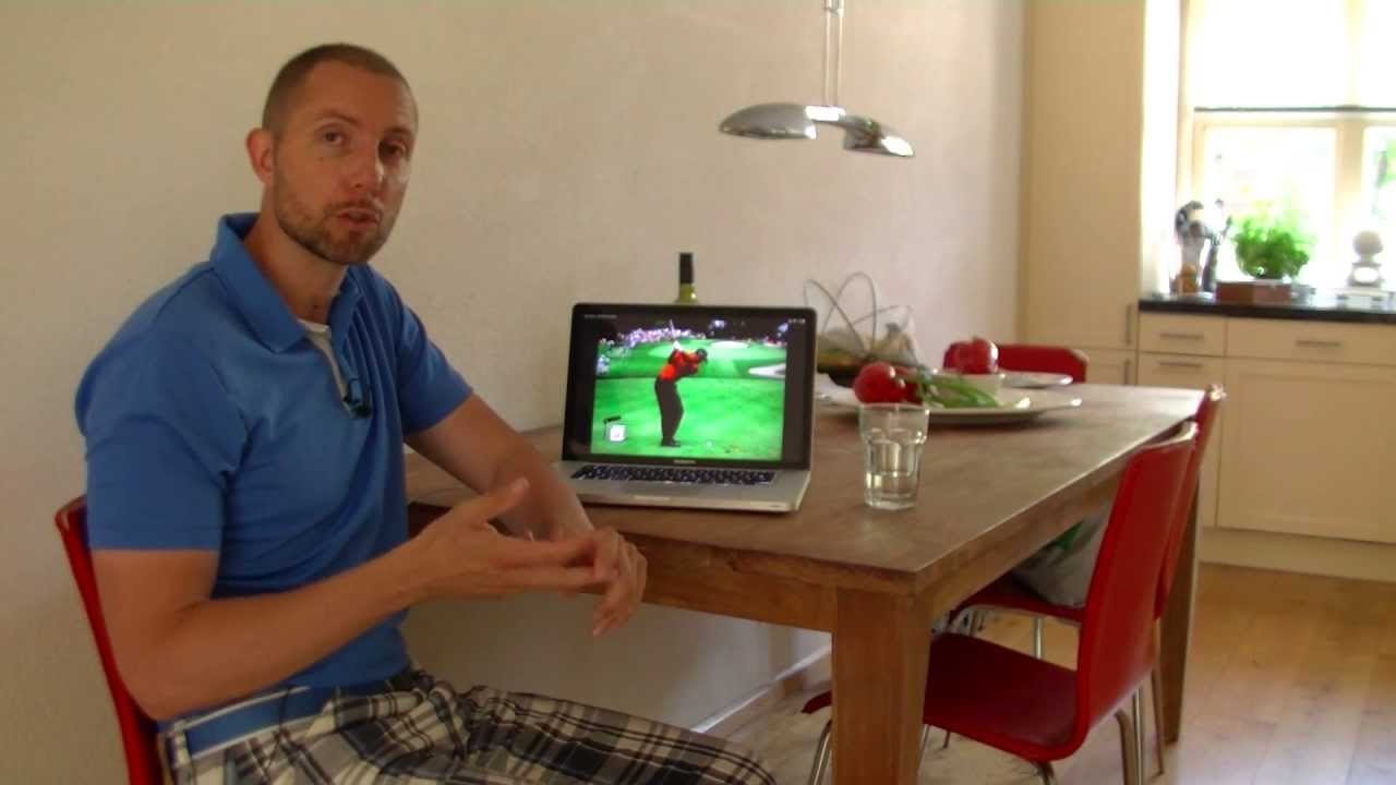 Beter golfen vanuit je luie stoel youtube for Luie stoel