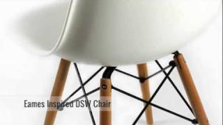 Furnisho - Eames Inspired Dsw Eiffel Chair - Modern Classic Furniture Reproduction