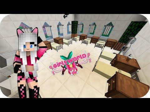 EMPEZAMOS CON EL INTERIOR DEL HOSPITAL!!- Girl's World 2 Minecraft Ep 53
