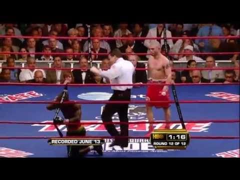 2009 06 13 Miguel Ángel Cotto vs Joshua Clottey HDTV Отличный бой !!!