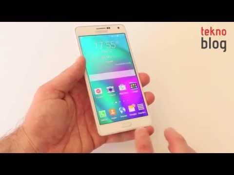 Samsung Galaxy A7 İncelemesi