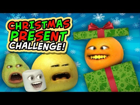 Annoying Orange - Christmas Present Challenge!