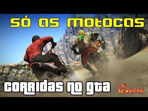 Corrida no GTA: mais uma só com as motocas...