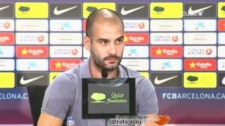Guardiola Enfado con Carles Escolán Radio Marca