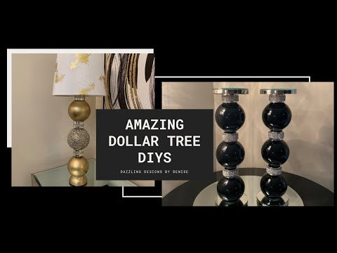 New Dollar Tree DIY || 💕Elegant Home Decor || Decorating For Less 💕