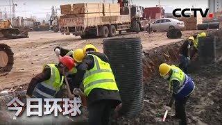[今日环球]众志成城 抗击疫情 火神山医院:ICU病房初现模样| CCTV中文国际