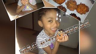 Chicken  Mac and Cheetos balls