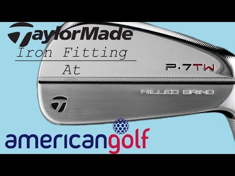 Taylormade Iron Fitting - Custom Fitting With American Golf