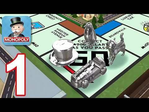 Monopoly Mobile - Gameplay Walkthrough Part 1 - Tutorial (iOS, Android)
