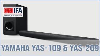 Yamaha YAS-109 und Yamaha YAS-209 Soundbar