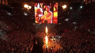 2016 NBA Finals Game 6 Cleveland Cavaliers Full Intro 6.16.16