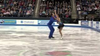 Danielle Gamelin and Alexander Gamelin, 2015 U.S. Figure Skating Championships, Free Dance