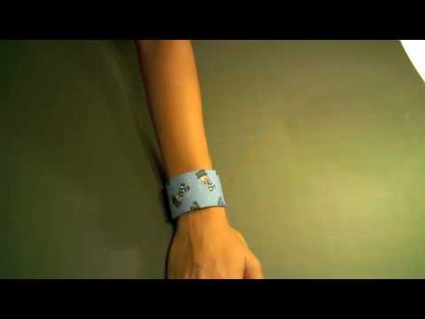 How to Make a Fabric Cuff Bracelet