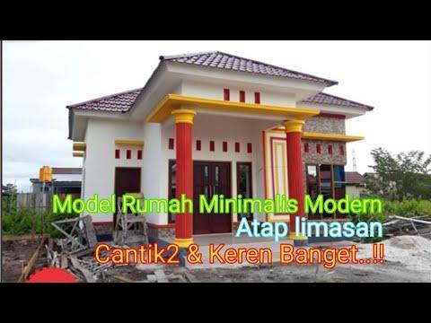 25 Model Rumah Minimalis Modern Atap Limasan - YouTube