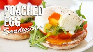 Poached Egg Sandwiches Recipe : Season 2, Ep. 14 - Chef Julie Yoon