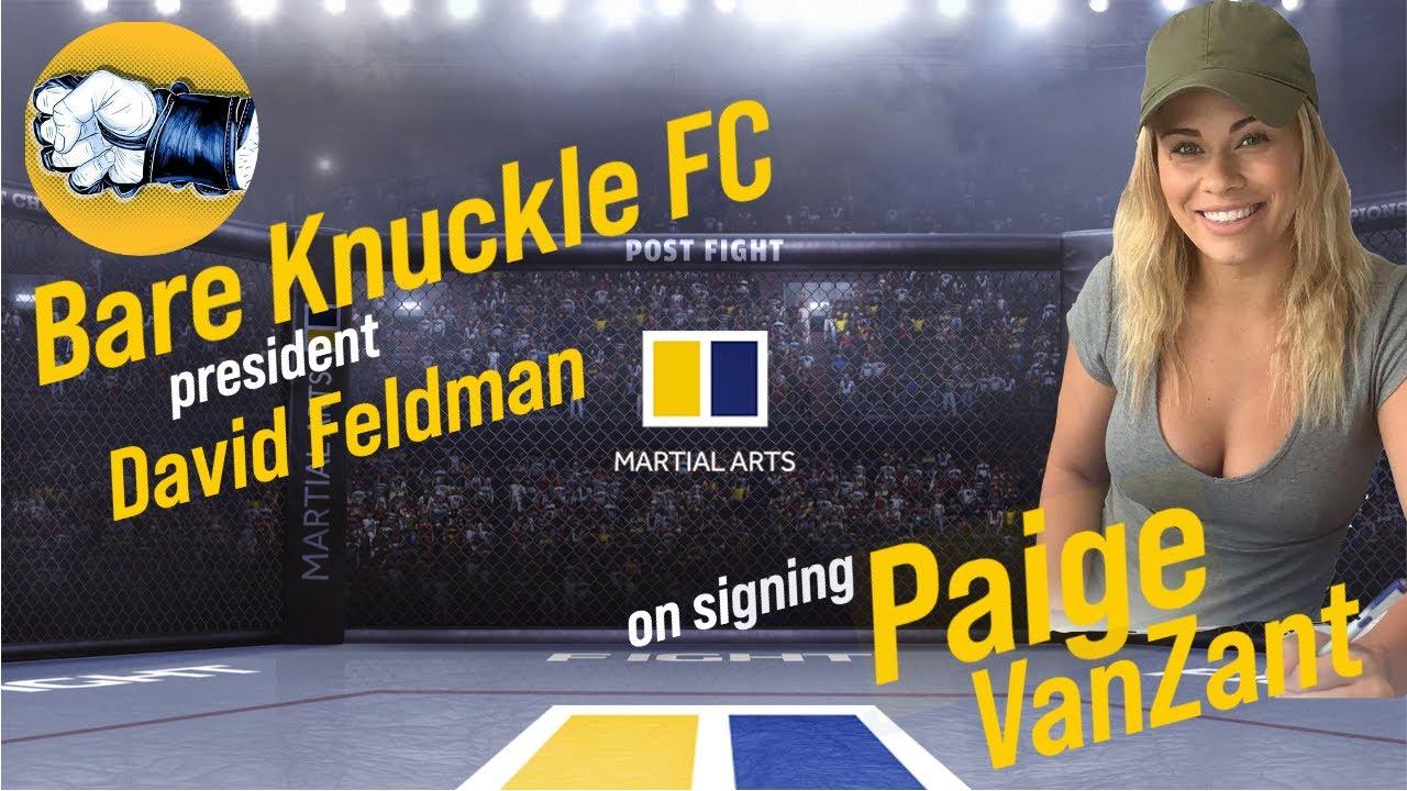 BKFC president: Paige VanZant 'still has a future' fighting bare ...