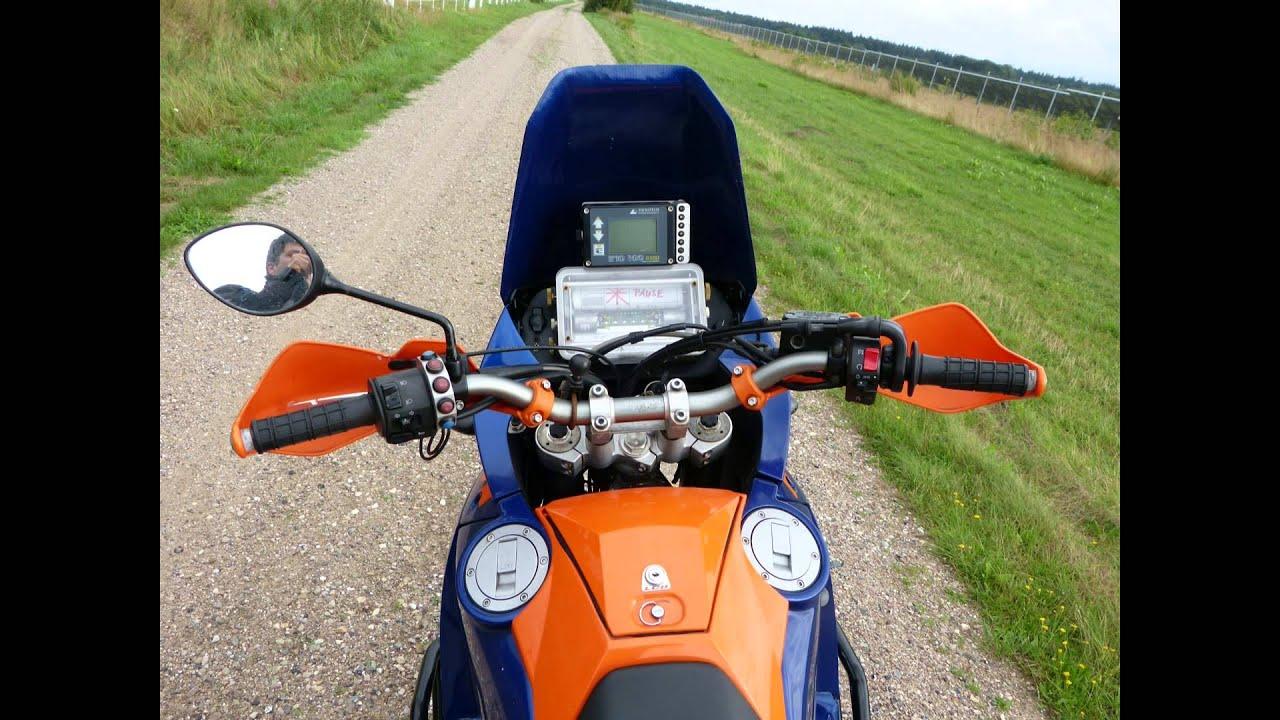 Garmin Gps Watch >> KTM 950 Adventure S Touratech Roadbook Acropovice - YouTube
