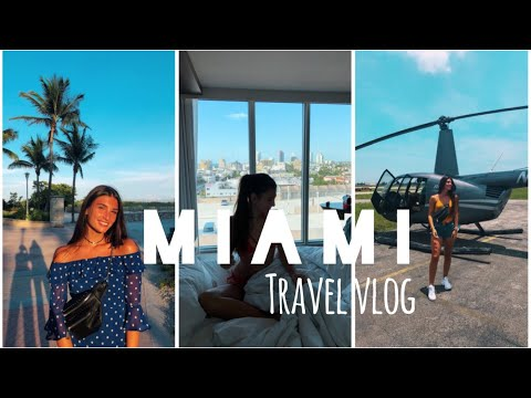 TRAVEL VLOG - MIAMI 🇺🇸 CARLAVVA