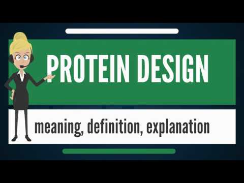 what-is-protein-design?-what-does-protein-design-mean?-protein-design-meaning-&-explanation