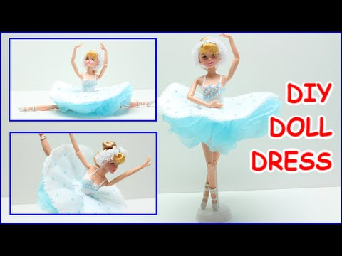 how-to-make-a-ballerina-doll-dress-for-barbie-diy-tissue-paper-crafts-doll-dress-fun
