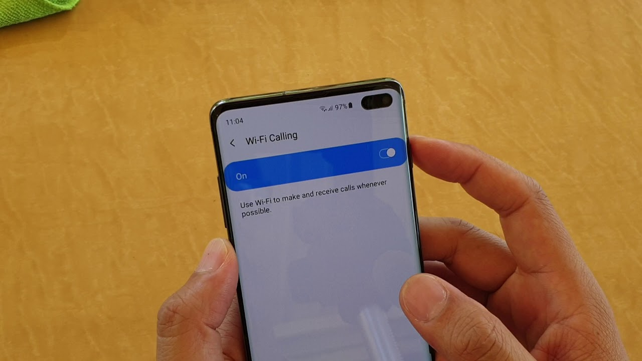 Samsung Galaxy S10 / S10+: How to Enable / Disable WiFi Calling
