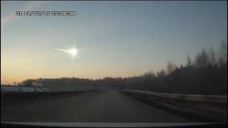 Челябинский метеорит. Записи камер видеонаблюдения.(, 2013-02-18T08:07:04.000Z)