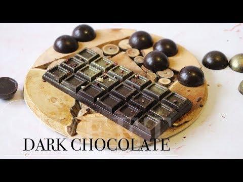 Как приготовить натуральный шоколад БЕЗ САХАРА | Homemade chocolate | Juli_FoodPP