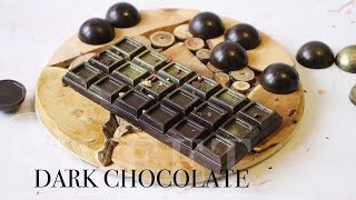 как приготовить натуральный шоколад БЕЗ САХАРА  Homemade chocolate  Juli_FoodPP