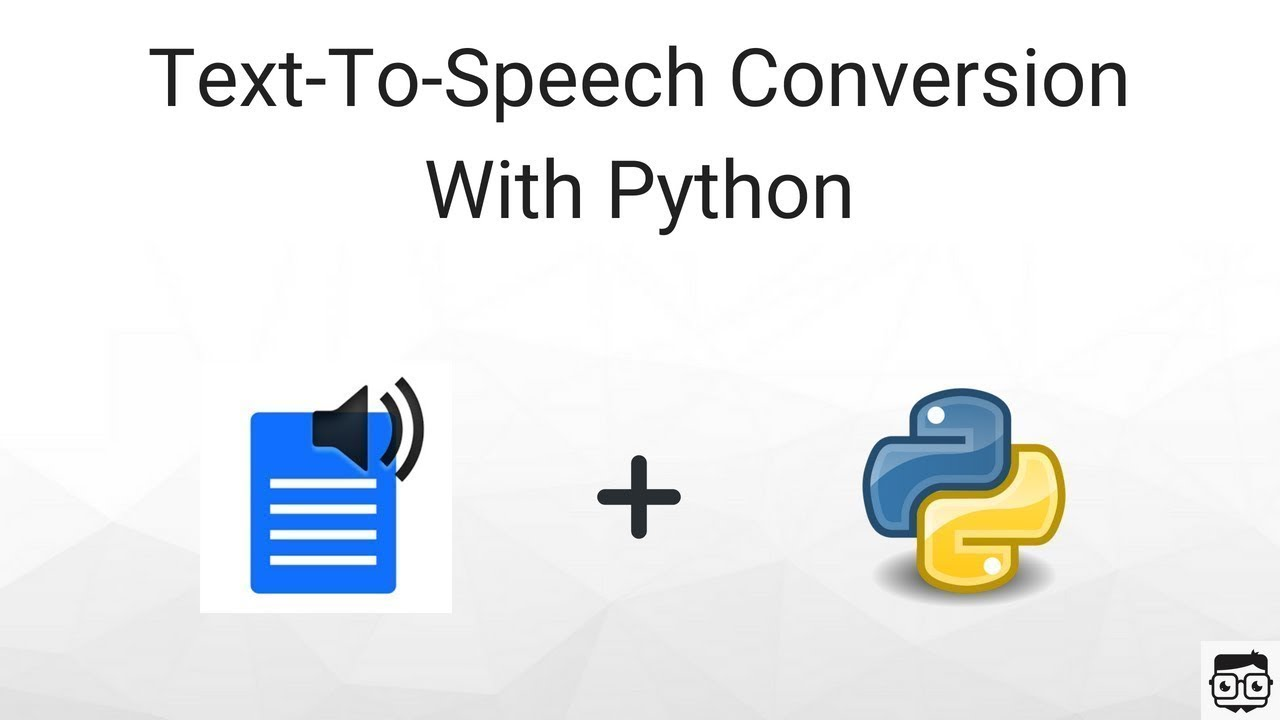 Text to speech using python ( Create your own audio book