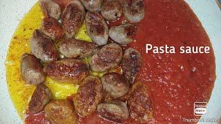 초간단 이탈리안 소세지 스파게티  Spaghetti w…