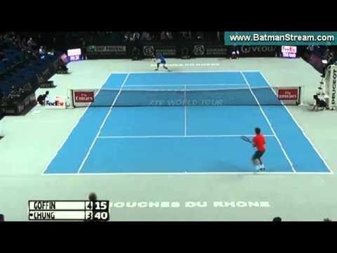 2016 02 16 Goffin v Chung Hyeon (ATP Marseille)