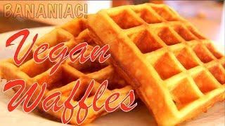 How To Make Vegan Waffles - Cuisinart Belgian Waffle Maker
